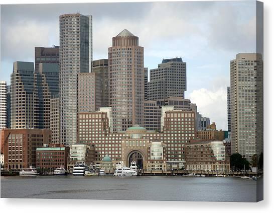 From Boston Harbor Canvas Print
