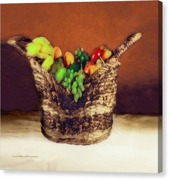 Fruit  Art 11 Canvas Print