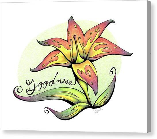 Fruit Of The Spirit Series 2 Goodness Canvas Print