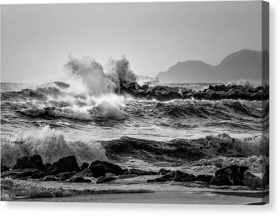 Winter Sea Canvas Print