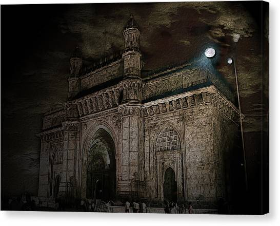 Gate Way Of India Canvas Print
