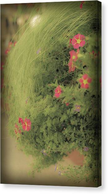 Gems In The Grass Canvas Print