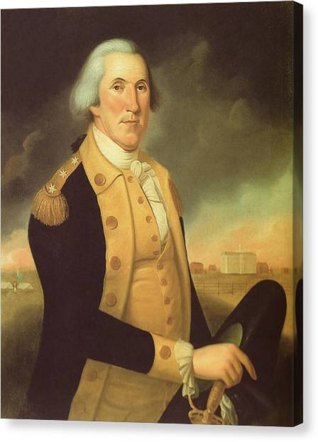 George Washington Canvas Print - General George Washington by War Is Hell Store