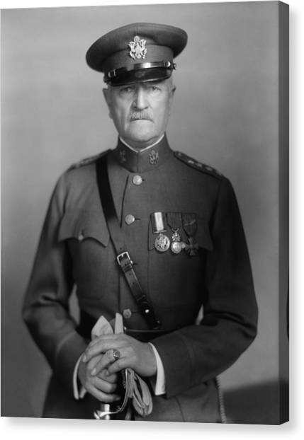 Wwi Canvas Print - General John Pershing by War Is Hell Store