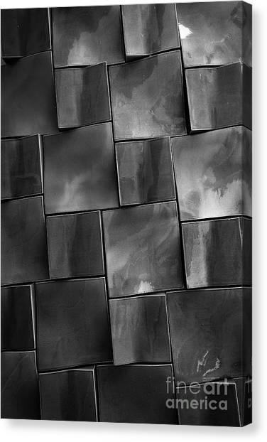 Rectangles Canvas Print - Geometrix Abstract Art by Edward Fielding