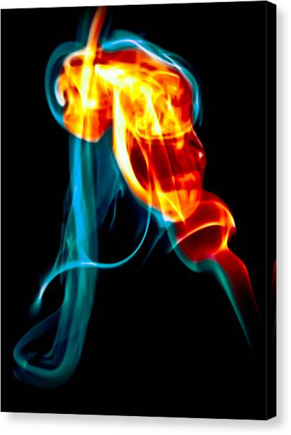 Ghost 11 Canvas Print