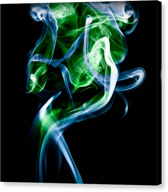 Ghost 8 Canvas Print