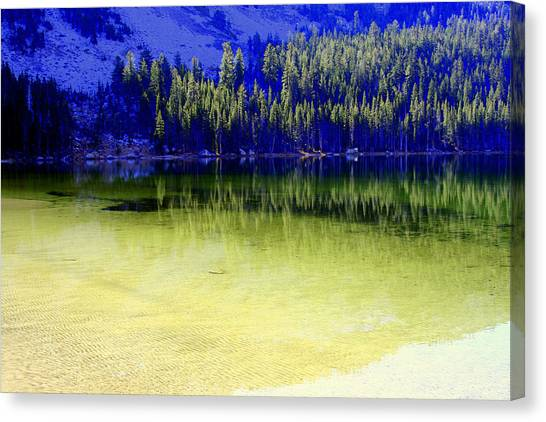 Ghostly Reflections Canvas Print