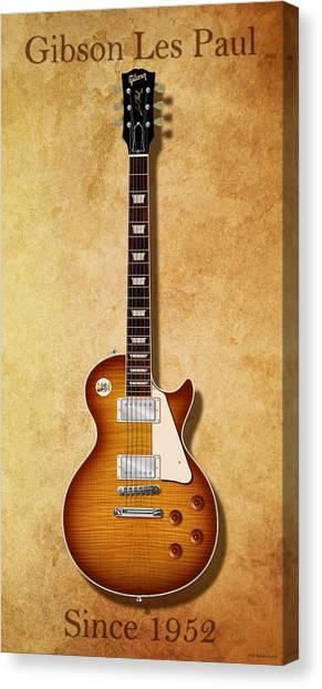 Gibson Les Paul Since 1952 Canvas Print