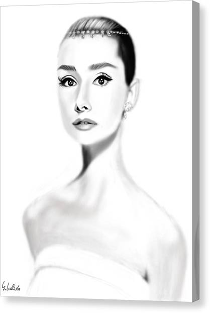 Girl No.203 Canvas Print by Yoshiyuki Uchida