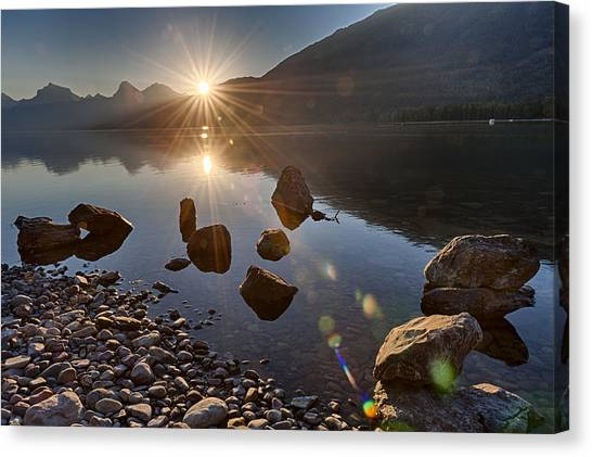 Glacier National Park 100th Anniversery Canvas Print