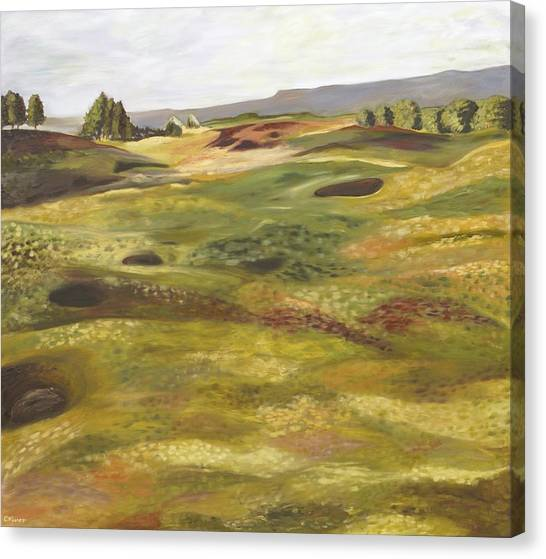 Gleneagles Queens Course Canvas Print