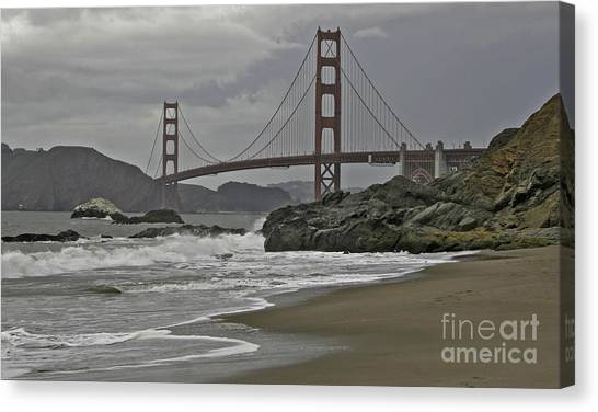 Golden Gate Study #1 Canvas Print