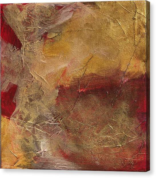 Golden Ruby Canvas Print