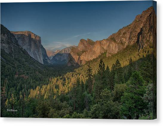 Bridal Canvas Print - Golden Yosemite by Bill Roberts