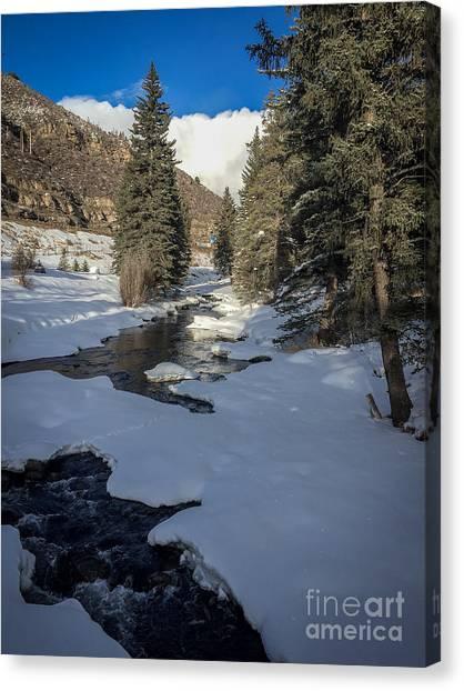 Gore Creek Canvas Print