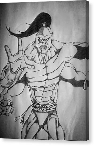 Mortal Kombat Canvas Print - Goro  by Ryan Williams