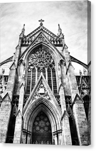 Patrick Canvas Print - Gothic  by Jessica Jenney