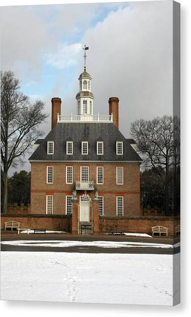 Governors Palace Canvas Print