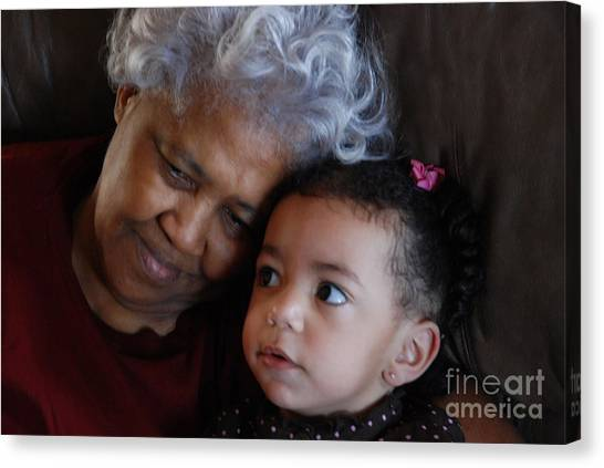 Grandma Canvas Print - Grandma by Jim Wright