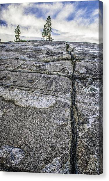 Granite Expanse Canvas Print