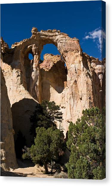 Grosvenor Arch Canvas Print by James Marvin Phelps
