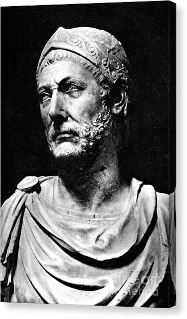Hannibal, Carthaginian Military Canvas Print