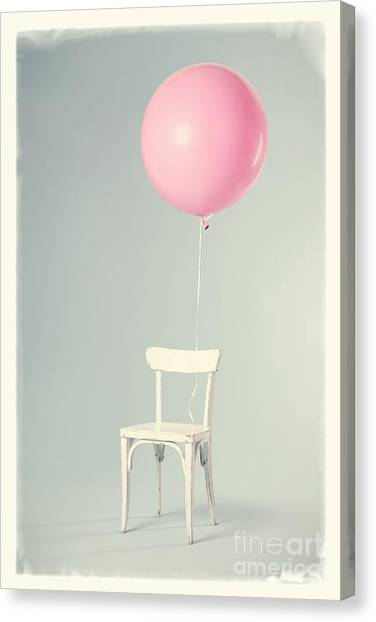 Happy Birthday Canvas Print - Happy Birthday Card by Edward Fielding