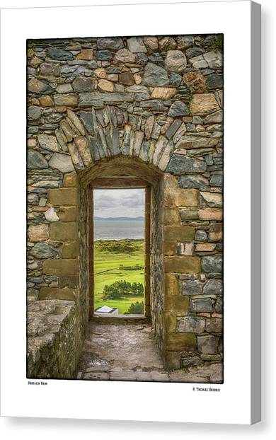 Harlech View Canvas Print