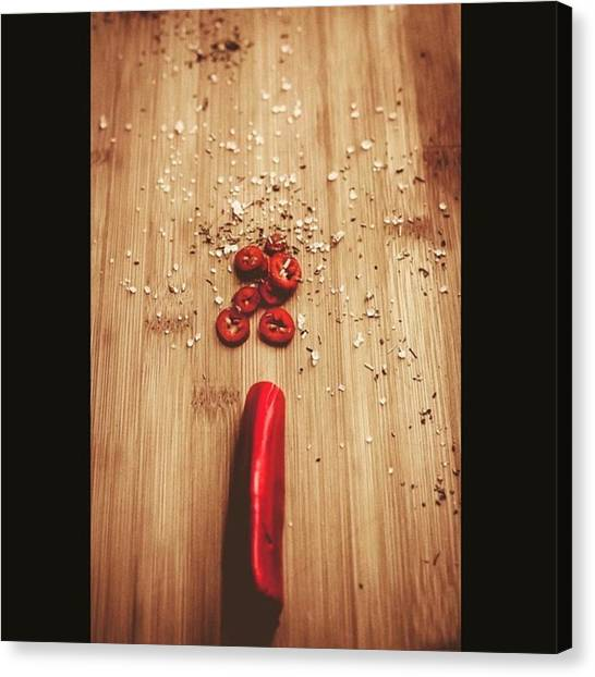Greek Art Canvas Print - Red Hot Chili Pepper by Harry Kanelopoulos Photography