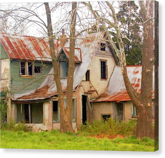 Haunted House Canvas Print