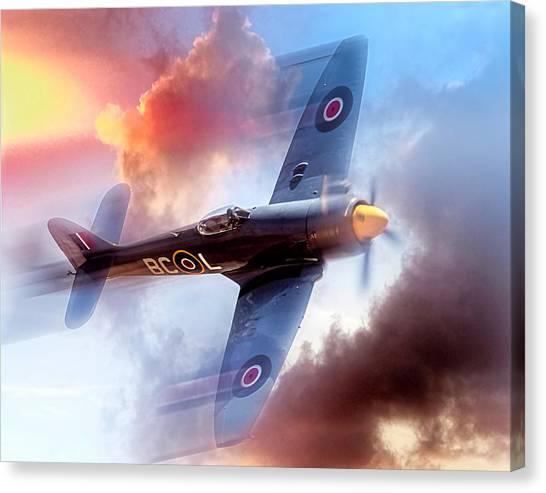 Hawker Sea Fury Canvas Print