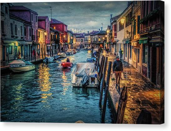 Heading For Home. Canvas Print