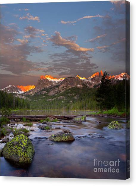 Hell Roaring Lake Canvas Print