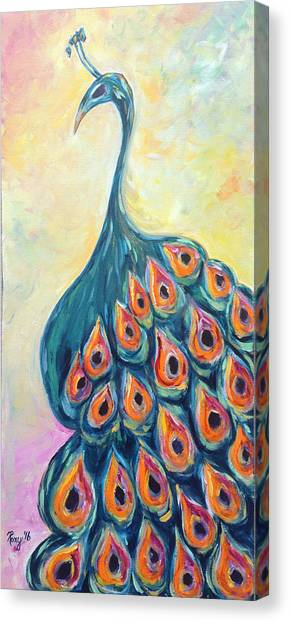 Large Birds Canvas Print - Hello Gorgeous by Roxy Rich