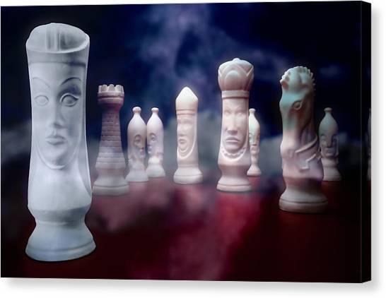 Chess King Canvas Print - Her Majesty by Tom Mc Nemar