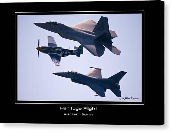 Heritage Flight Canvas Print by Mathias Rousseau