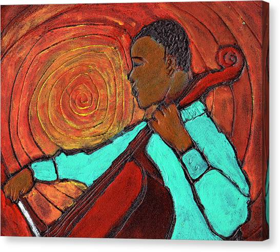 Hot Jazz Canvas Print