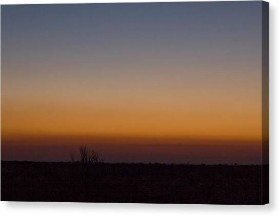Howie Idaho Sunrise Canvas Print by John Higby