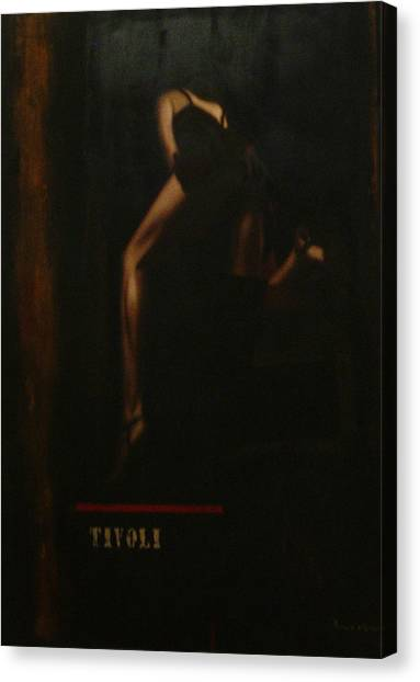 Humanografia 5 Canvas Print by Romeo Niram