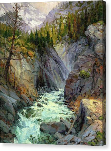 Hurricanes Canvas Print - Hurricane River by Steve Henderson