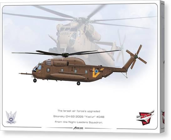 Iaf Sikorsky Ch 53 2025 Canvas Print