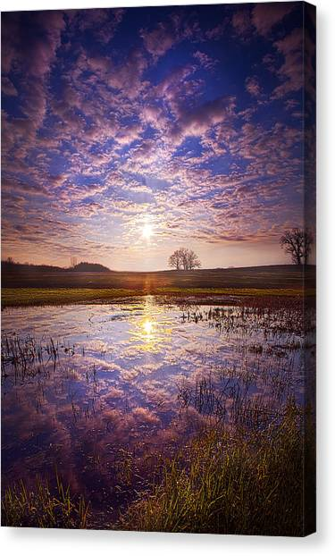 Lake Sunrises Canvas Print - Illumined by Phil Koch