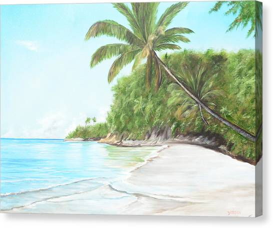 In Paradise Canvas Print