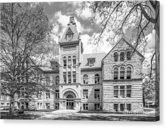 Indiana University Iu Canvas Print - Indiana University Kirkwood Hall  by University Icons