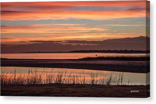 Inlet Watch Sunrise Canvas Print
