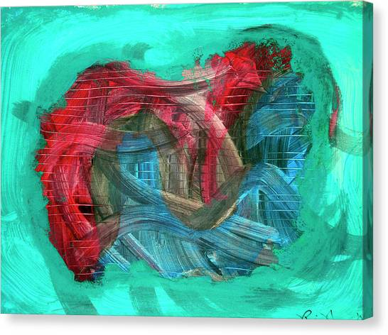Inner Turmoil  Canvas Print