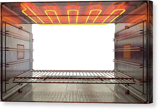 Oven Canvas Print - Inside The Oven by Allan Swart