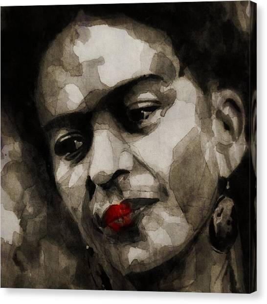 Painters Canvas Print - Inspiration - Frida Kahlo by Paul Lovering