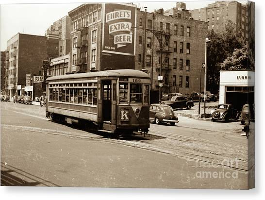 Inwood Trolley Canvas Print